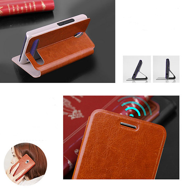Mofi New Core Series PU Leather Protective Case For SONY E1