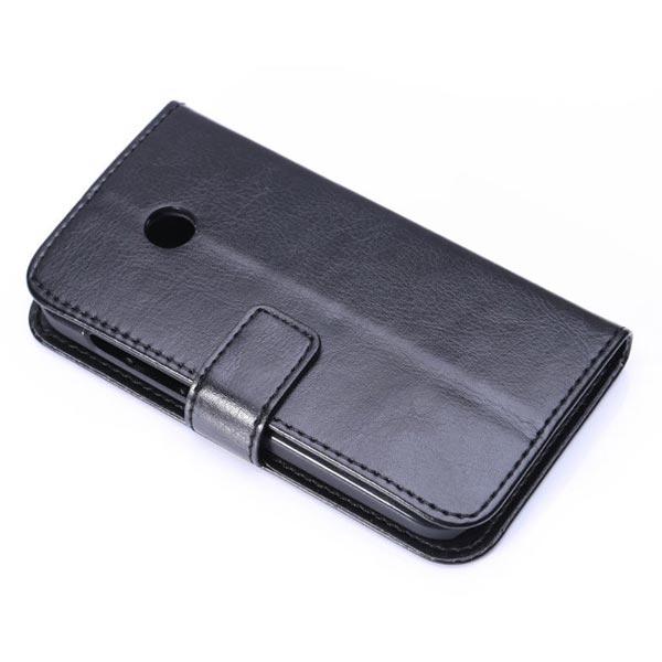 Fine Sheep Grain Printing Money Leather Case For MOTO E