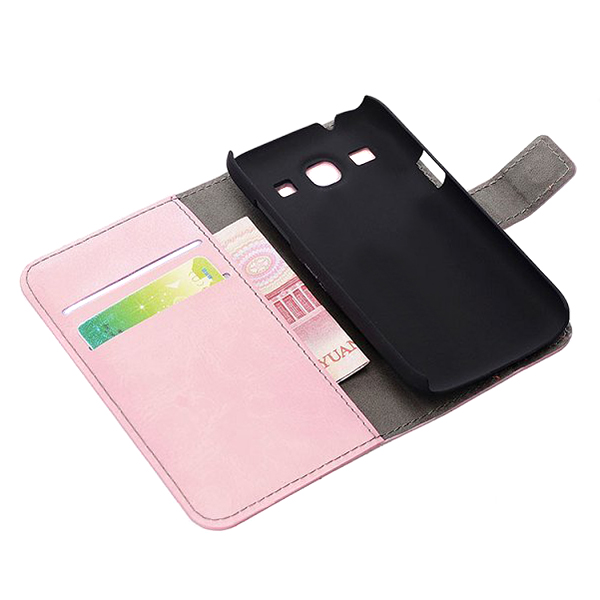 Magnetic Wallet Leather Card Cover Case For Samsung Galaxy Core G3500