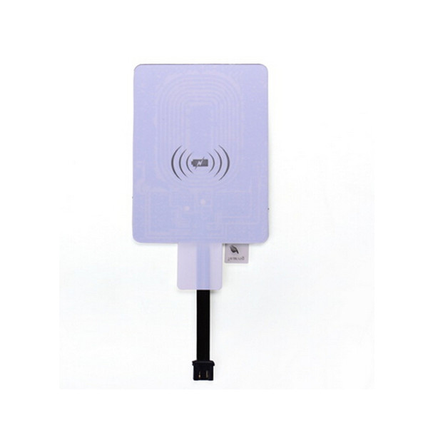 Qi Wireless Receiver Middle Micro USB Charger For Cell Phones(Reverse)