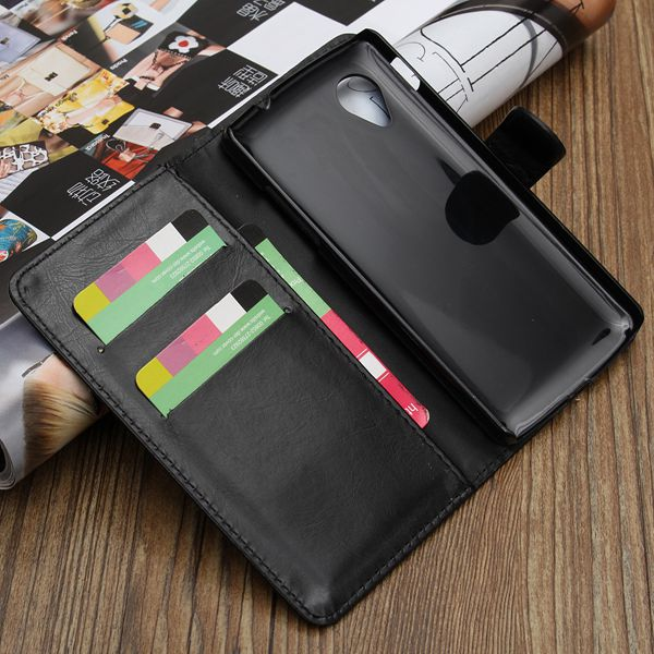 PU Leather Case Cover Flip Card Wallet for LG Optimus G Pro E980
