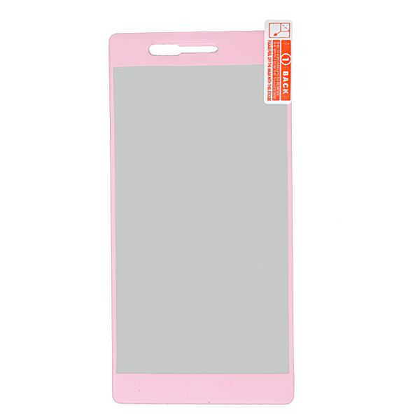 Colorful Front Tempered Glass Screen Protector For Huawei Ascend P7