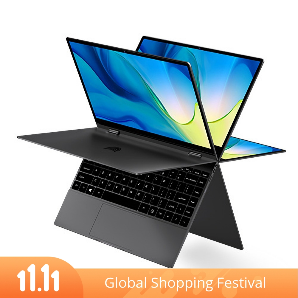 [Limited Edition]BMAX Y13 Power YUGA Laptop 13.3 inch 360-degree Touchscreen Intel Core m7-6Y75 8GB RAM 256GB SSD 38Wh Battery Full-featured Type-C Backlit 5mm Narrow Bezel Notebook