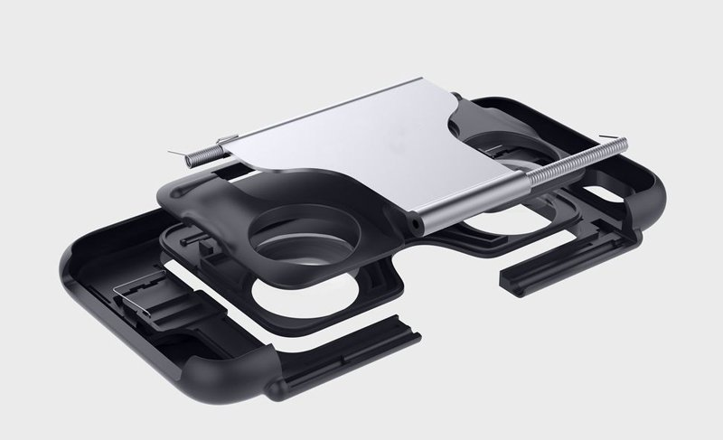 2 In 1 Silicone Virtual Reality 3D VR Case For Video And Games For Apple iPhone 6 6s 4.7 Inch
