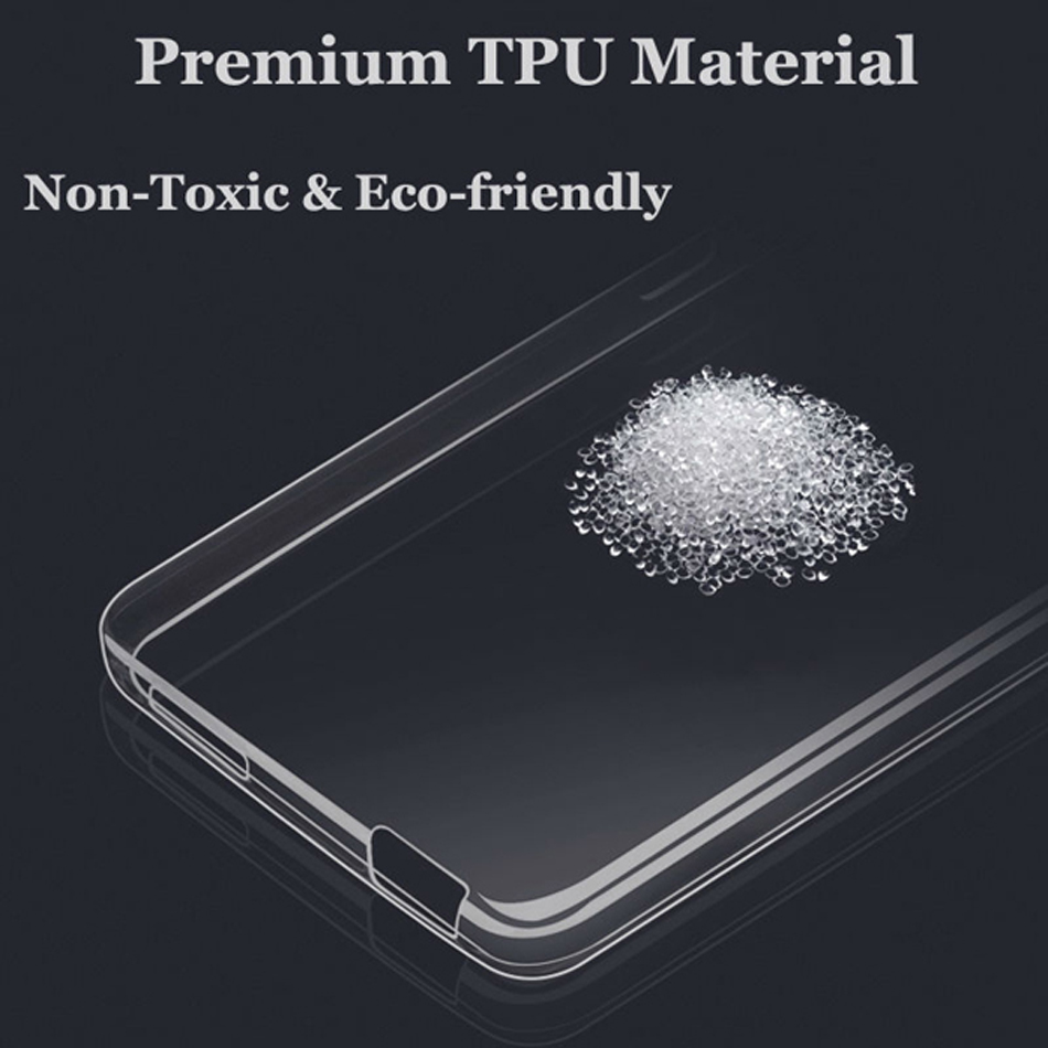 Ultra Thin Clear Soft Gel TPU Case Cover Skin For OnePlus 3/3T