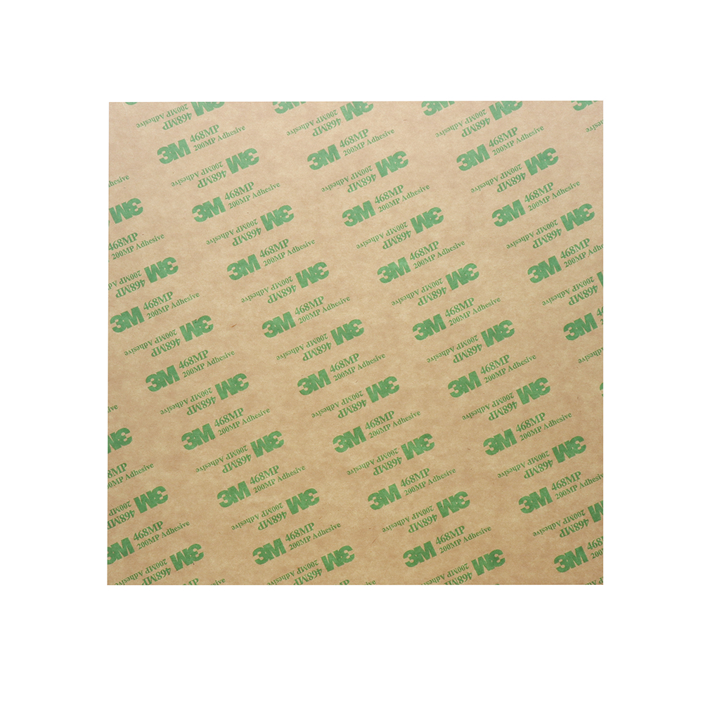 200*200*0.3mm Polyetherimide PEI Sheet With 3M Glue For 3D Printer