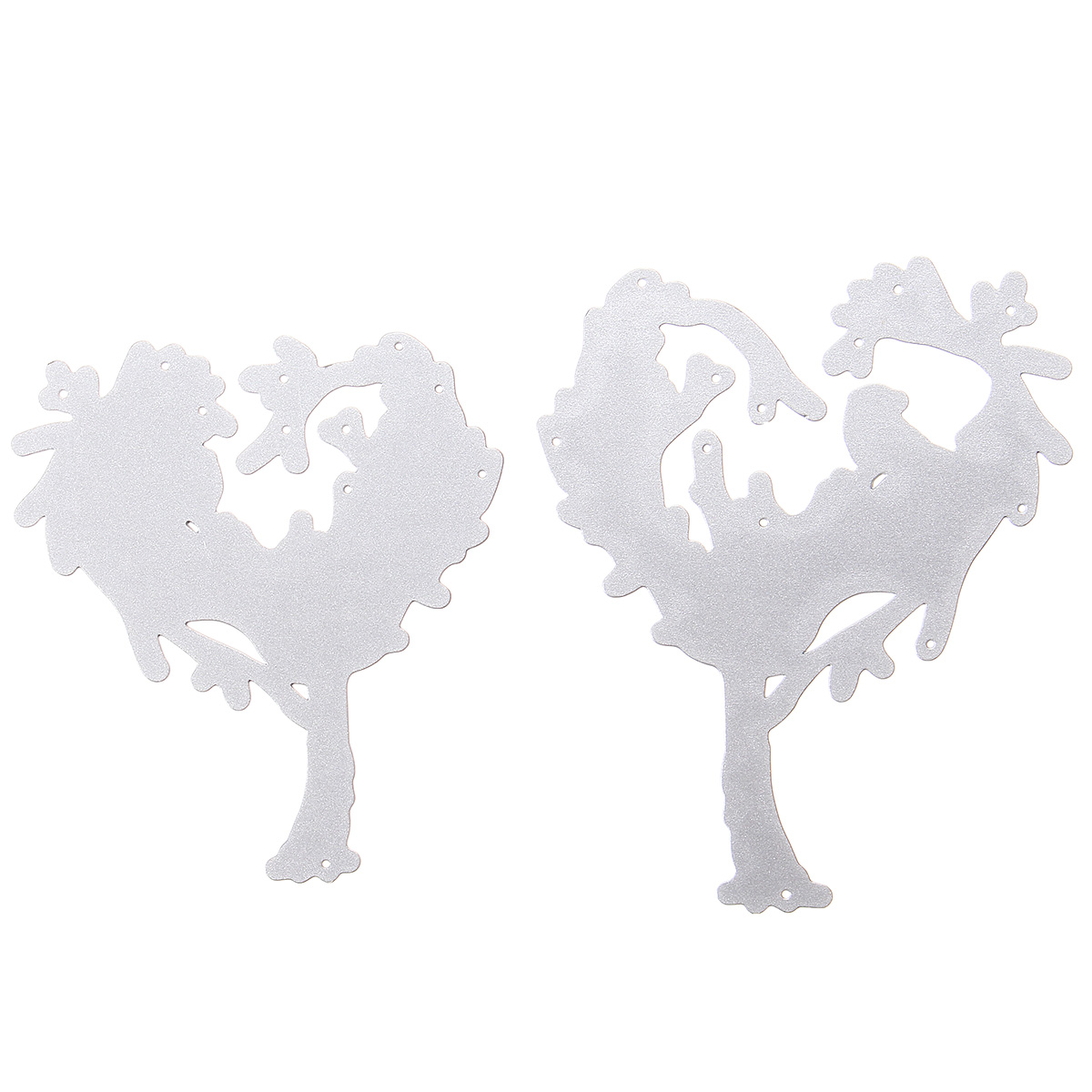 Heart-shaped Tree Pattern Scrapbooking DIY Album Card Paper Diary Craft Maker Metal Cutting Dies