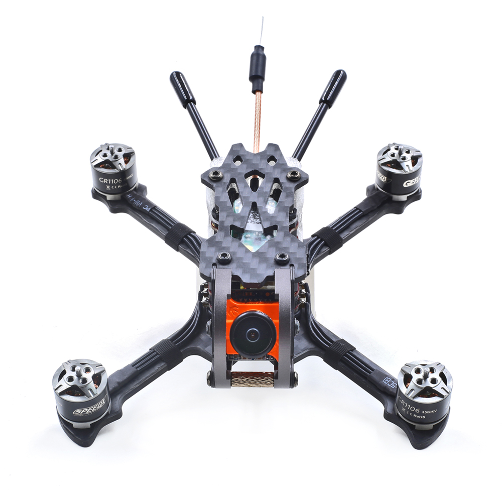 GEPRC GEP-Phoenix 125mm FPV Racing Drone BNF/PNP Omnibus F4 RunCam Micro Swift 600TVL Camera - Photo: 2