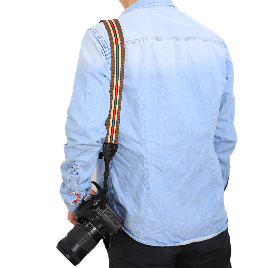 PULUZ PU6009D Retro Ethnic Style Multi-color Series Shoulder Neck Strap for SLR DSLR Camera