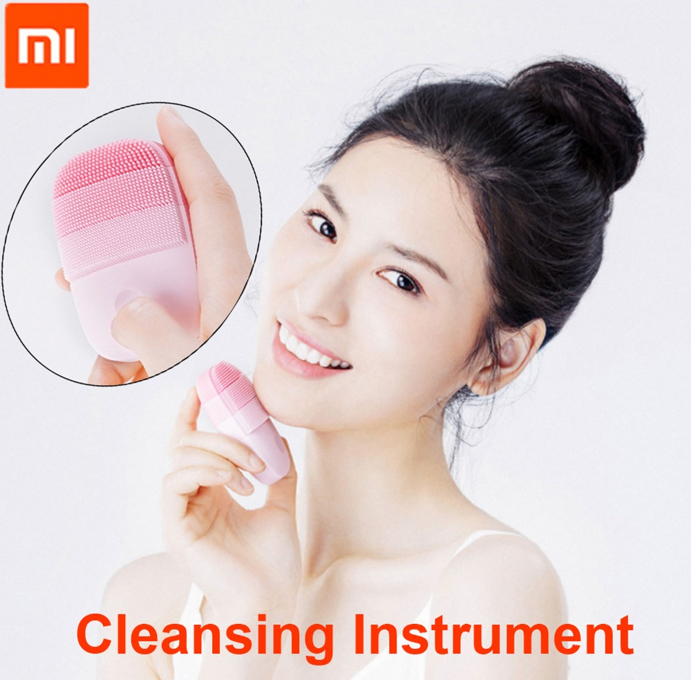 InFace Small Cleansing Instrument Deep Cleanse Sonic Beauty Facial Instrument Cleansing Face Skin Care Massager from Xiaomi Youpin