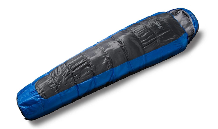 Outdoor Mummy Single Cotton Sleeping Bag Winter Camping Hiking Cold Wind Proof