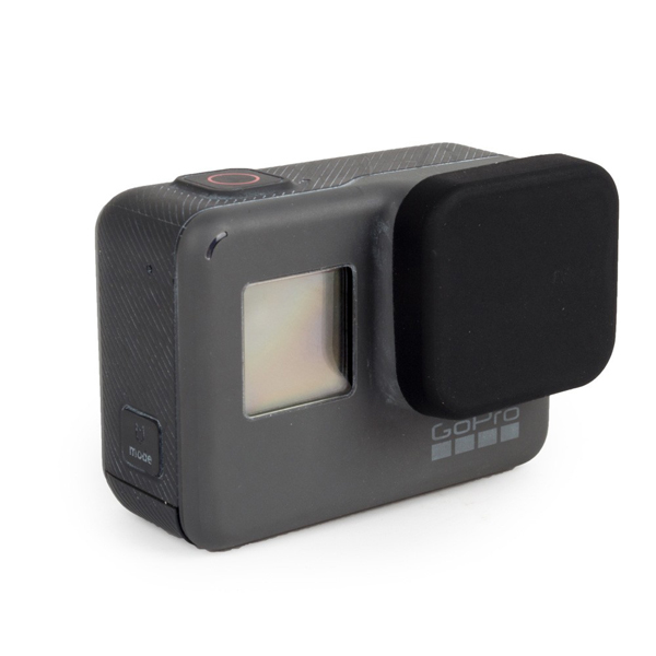 Protective Lens Cover Soft Silicone Rubber Dustproof Scratch Proof Cap for GoPro Hero 5 Black