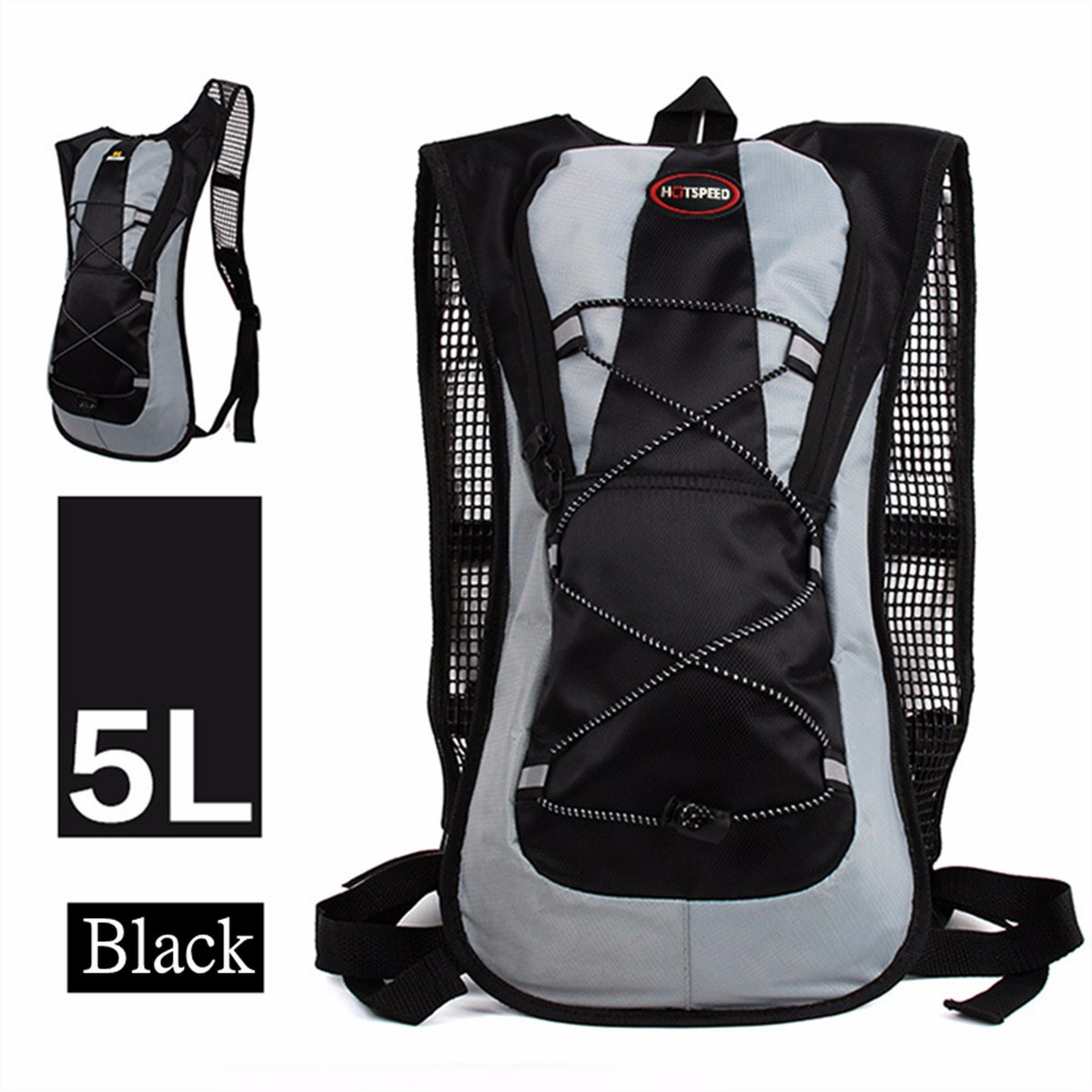 542817245bb IPRee 5L Running Hydration Backpack Rugzak 2L Straw waterzak Bag Om te  wandelen Climbing