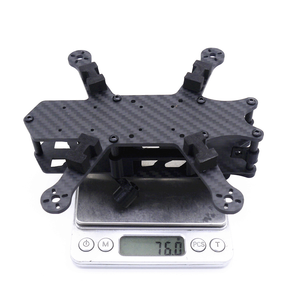 Cpro 155mm 3inch HX Type FPV Tiny Frame Kit with 3mm Thickness Bottom Board Compatiabled with DJI Air Unit