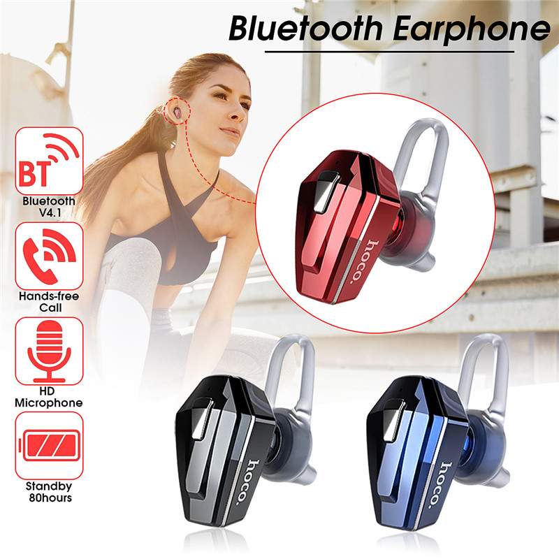 HOCO E17 Business Mini Light-weight bluetooth Earphone Earbud with Mic for Xiaomi Mobile Phone