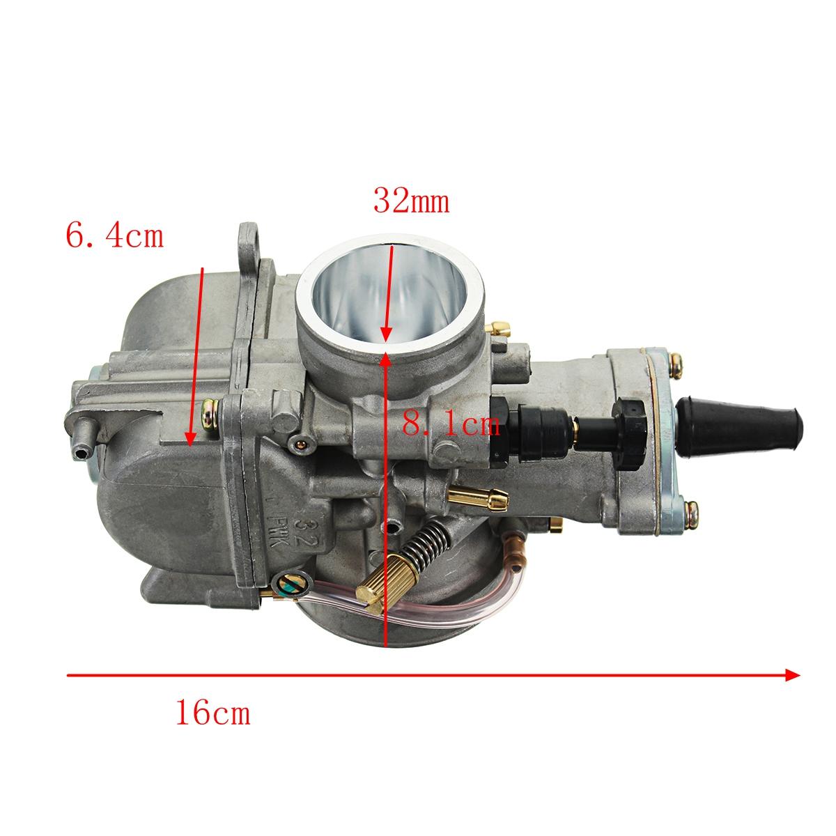 PWK 28mm/30mm/32mm/34mm Motorcycle Racing Motor Carburetor with Power Jet