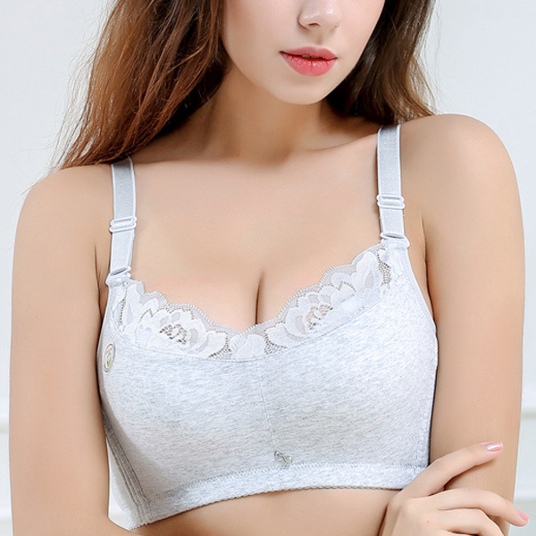 Wireless Soft Cotton B Cup Genie Bra