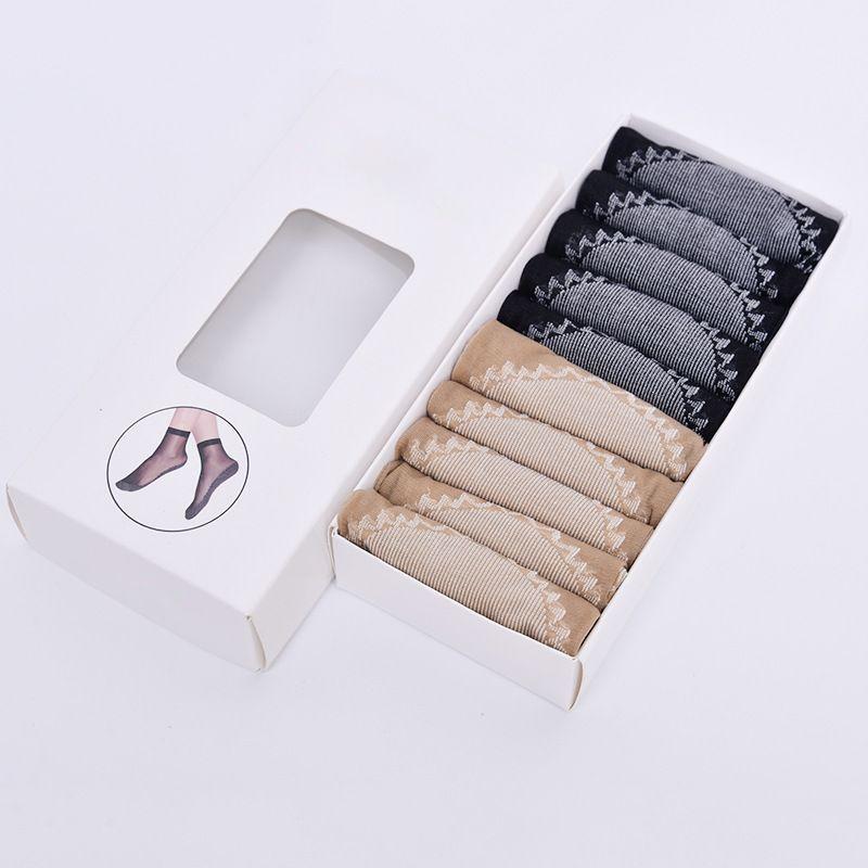 Image of 10 Paar Ultradünne High Sesilience Baumwolle 10 Paar Ultradünn