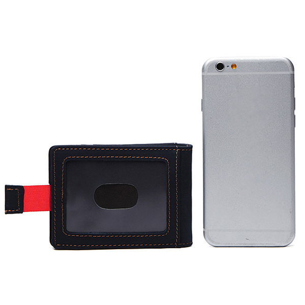 RFID Blocking Secure Wallet Money Clip for Men