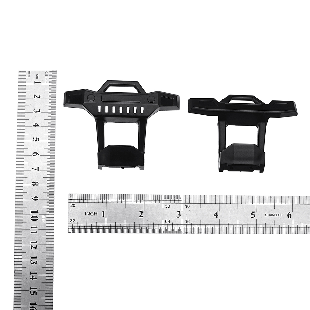 1Pair HS 18301 18302 18311 18312 Front and Rear Bumper Protector For 1/18 Crawler RC Car - Photo: 7