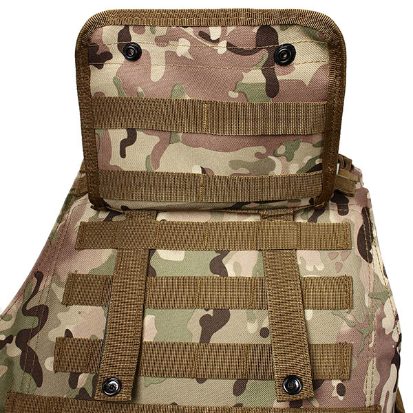 Molle Commando Amphibious Vest Field Equipment Tactical Vest CS Camouflage Protective Clothing