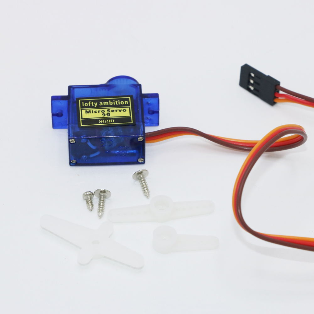 2PCS Lofty Ambition SG90 9g Mini Micro Servo for RC 250 450 Helicopter Airplane - Photo: 3