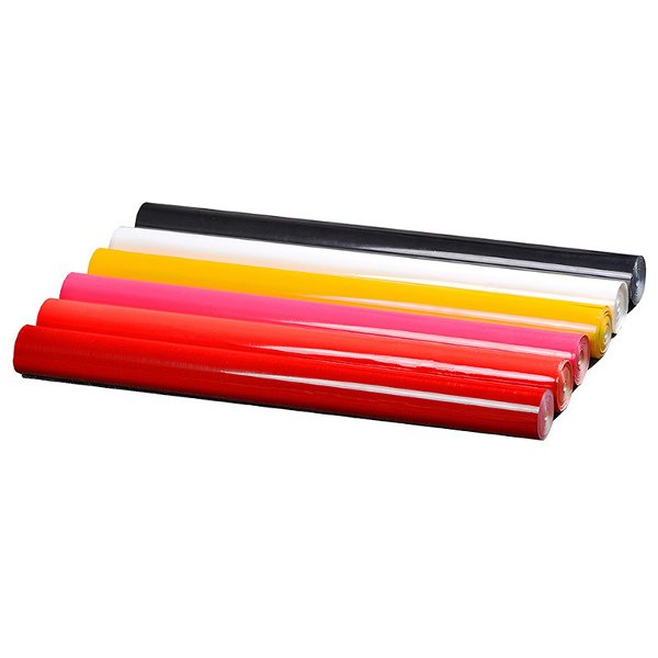 AEORC 2m White/Red/Yellow/Red And White Checkered PVC Heat Shrinkable Covering Film For RC Airplane