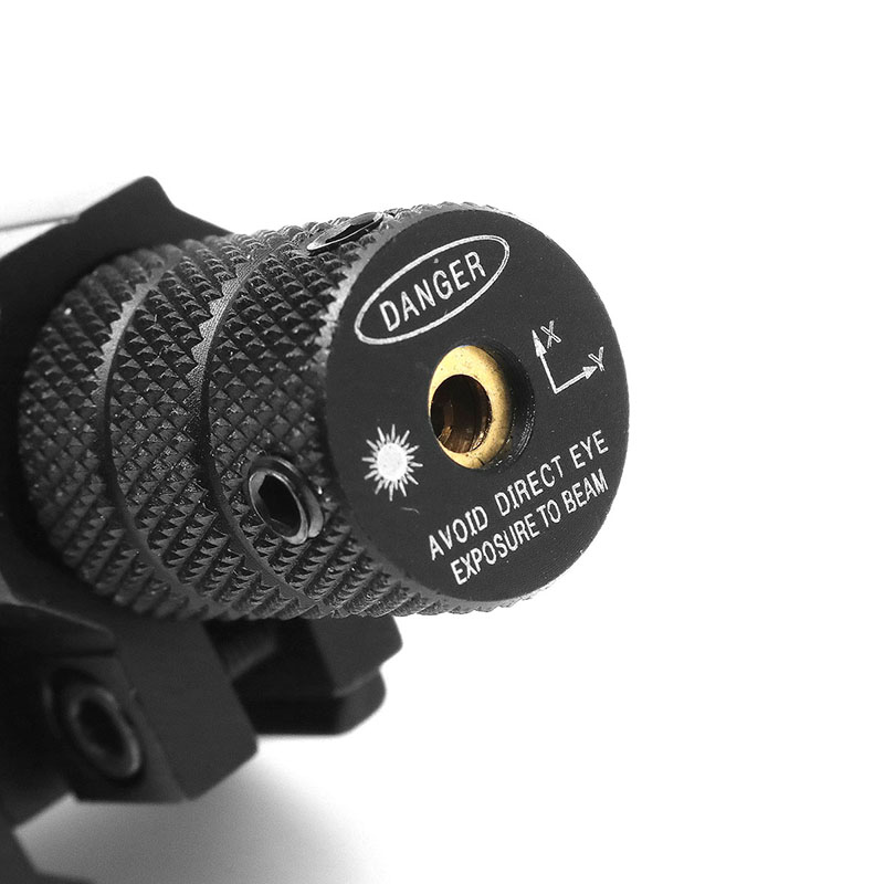 Mini Red Laser Sight Hang Type Beam Dot Sight Scope Tactical 20mm Picatinny Rail Mount