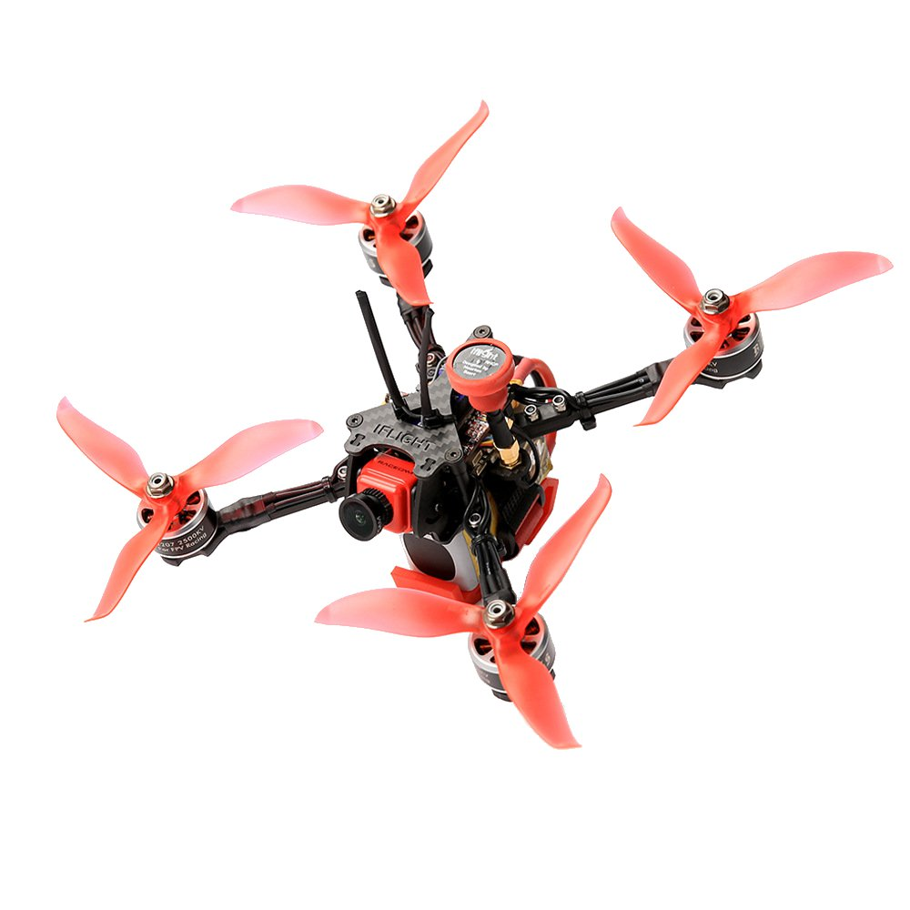 iFlight Force Mini VT5804 5.8G 48CH 0/25/100/200mW Switchable FPV Transmitter Support OSD