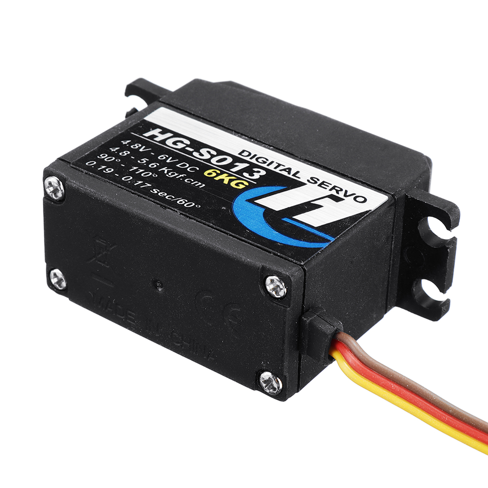 HG P407/P409/P410/P417 1/10 RC Spare 6KG Digital Steering Servo HG-S013 Pickup Truck Car Vehicles Model Parts