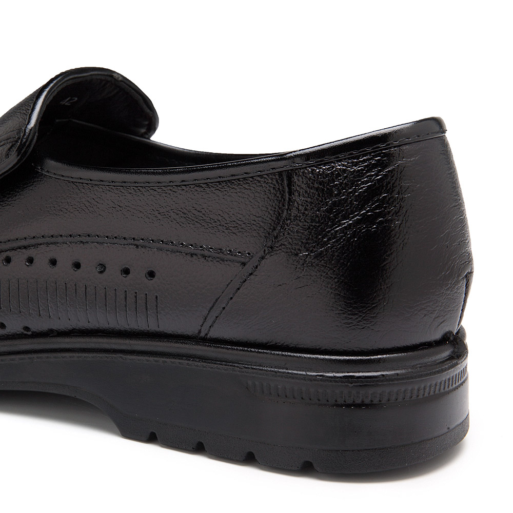 Men Breathable Hollow Outs Leather Business Shoes
