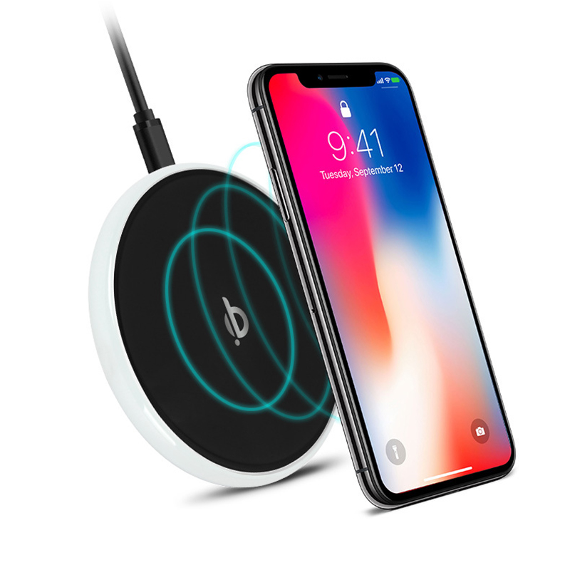 HALO Universal 10W Fast Charge QI Wireless Charger for