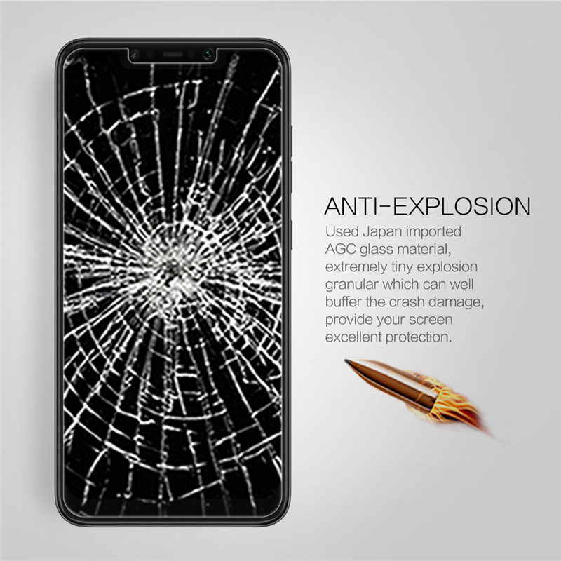 NILLKIN Anti-explosion Tempered Glass Screen Protector + Lens Film for Xiaomi Pocophone F1