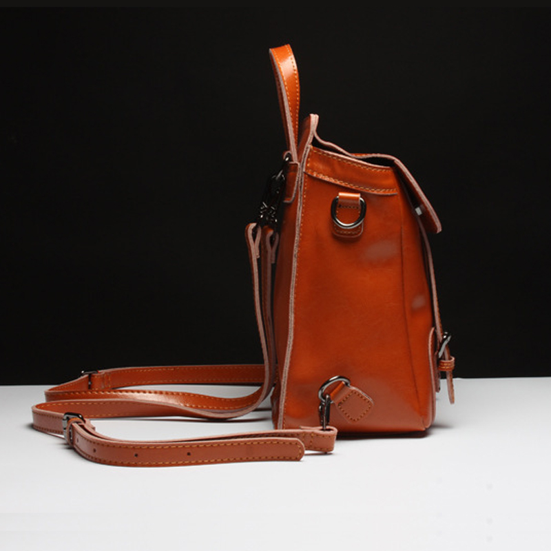 Women Genuine Leather Designer Crossbody Bag