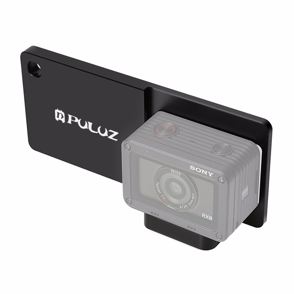 PULUZ PU314B Mobile Gimbal Switch Mount Plate Adapter for Sony RX0 Action Camera