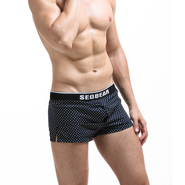 SEOBEAN Cotton Arrow Pants Lounge Home Shorts Underpants