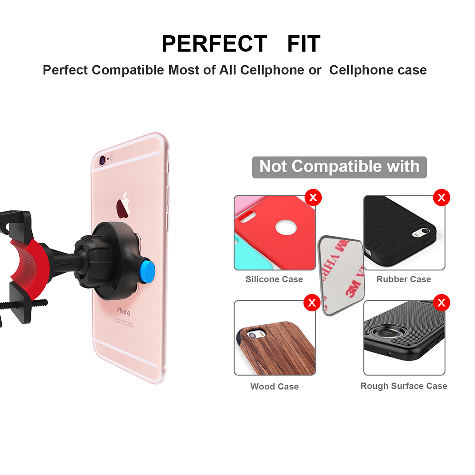 Bakeey Universal Bicycle Stand Holder Mount Phone Bracket Clip for iPhone Xiaomi Samsung