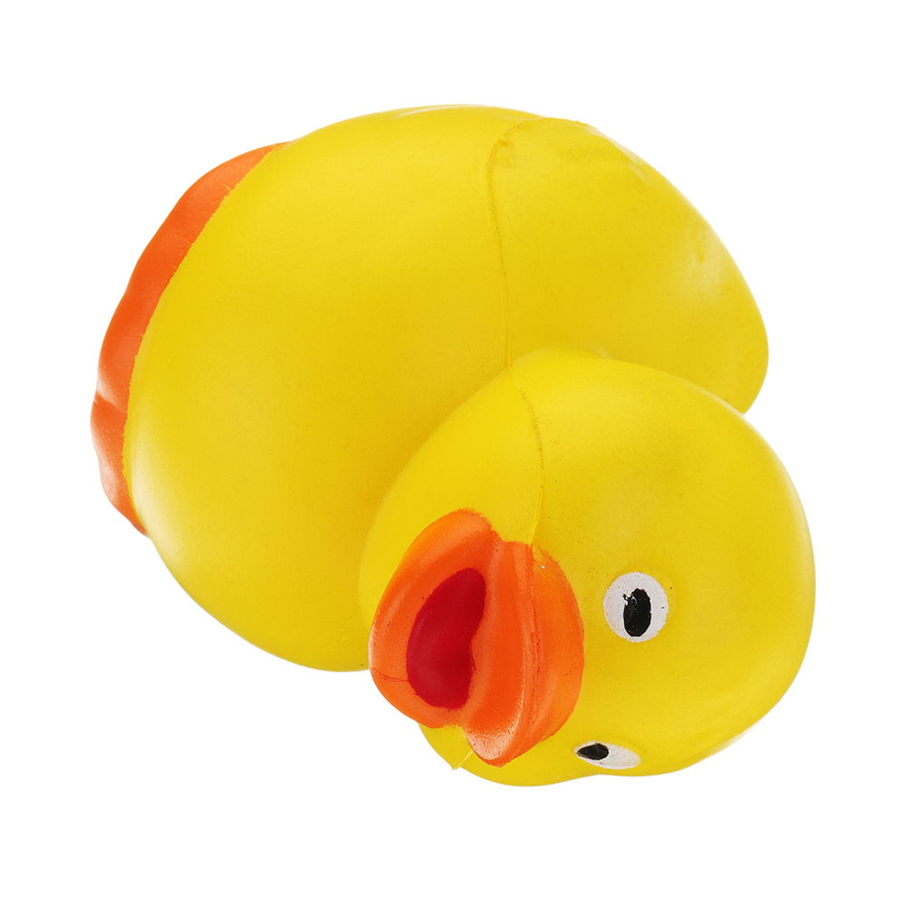 Mini Yellow Duck Squishy 6.5*5.1 CM Slow Rising With Packaging Collection Gift Soft Toy
