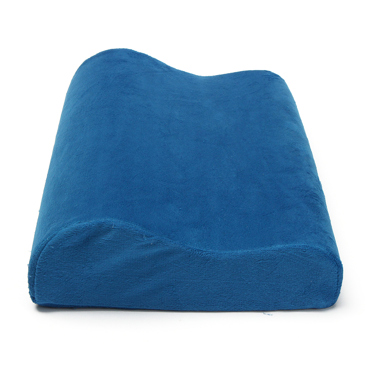 Memory Foam Contour Neck Spine Back Support Orthopaedic Firm Pillow Head Cushion