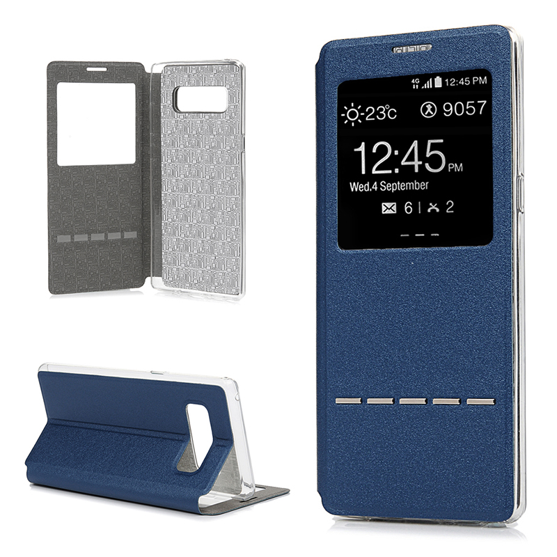 Bakeey Smart Flip Window Leather Case for Samsung Galaxy Note 8/S8/S8Plus
