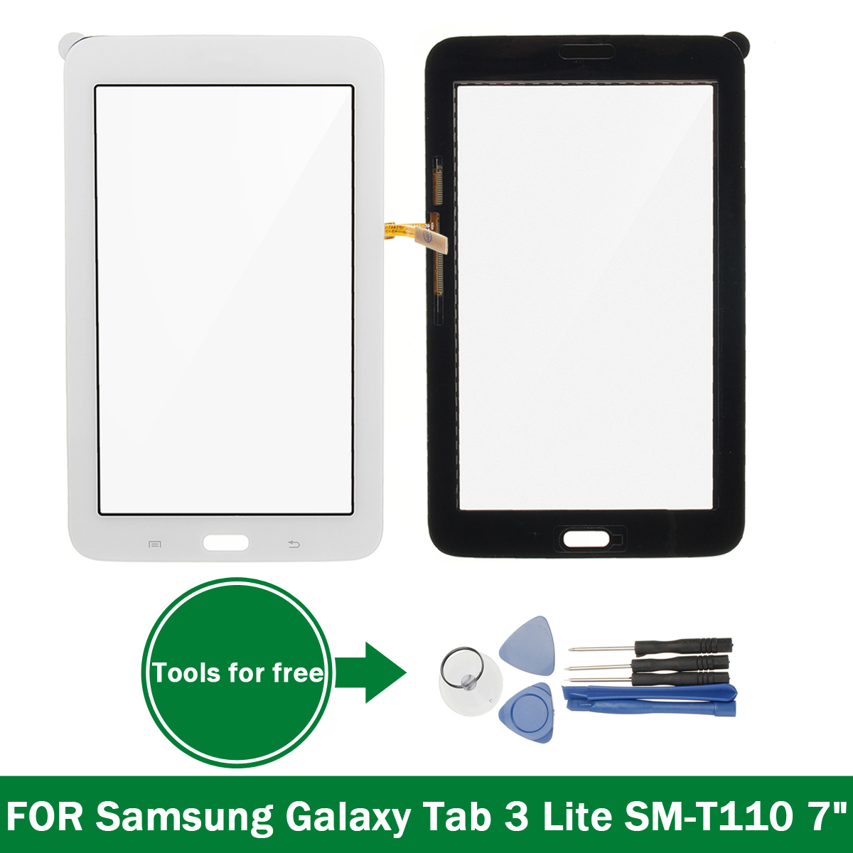 Touch Screen Replacement Assembly + Tools for Samsung Galaxy Tab 3 Lite SM-T110