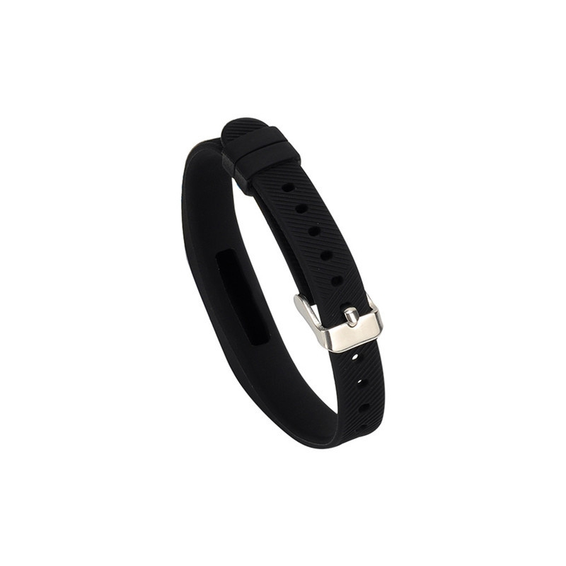 Replacement TPE Simple Needle Buckle Watch Strap for Fitbit Flex 2