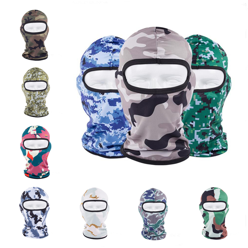 Military Outdoor Camouflage Windproof Mask Full Face Skiing Cycling Snowboard Cap Personal Care