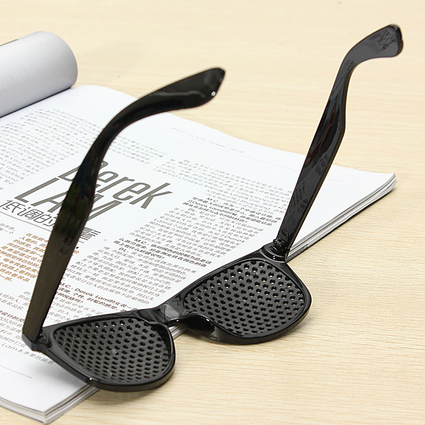 Eye Care Pinhole Glasses Eyesight Protection Eyes Exercise Anti-Fatigue Vision Improve Eyewer