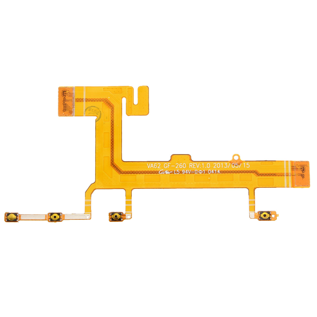 1PC Side On Off Power Volume Camera Button Switch Flex Cable For NOKIA Lumia 625