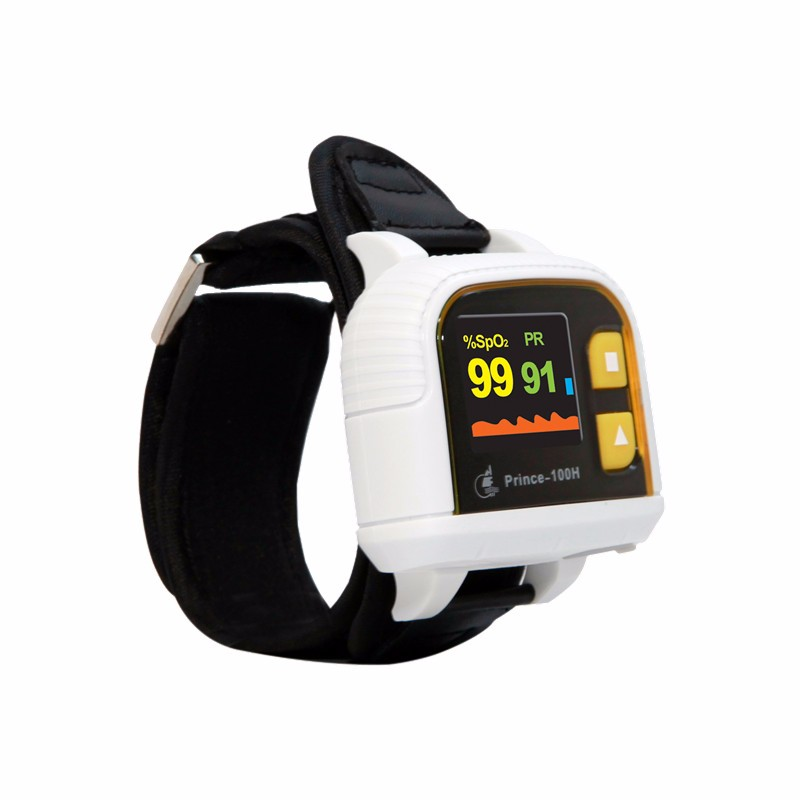 Heal Force OLED Hand Wrist Pulse Oximeter Blood Oxygen Saturation Meter Monitor