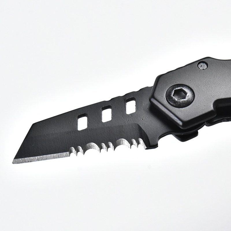 EDC Mini B2 Knife Foldable Portable Camping Self Defense Knife with Key Ring