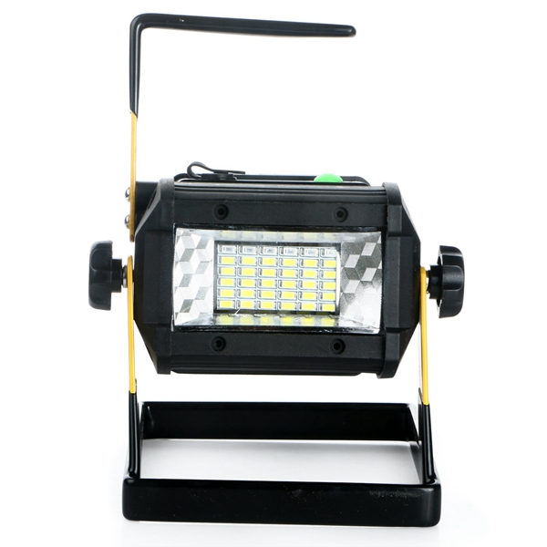 Outdoor Waterproof Portable 50W 36 LED Rechargeable Flood Light LED Work Emergency Lamp