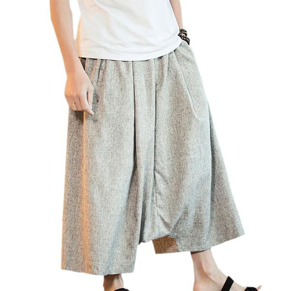 2dcad189 mote menns store størrelse kule lengde bukser på Banggood