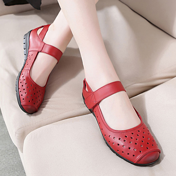 Leather Casual Soft Sole Flat Loafers